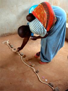 NET mit einer traumatisierten Mutter in Uganda