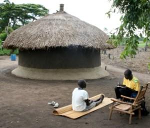 NET in an Ugandan IDP camp