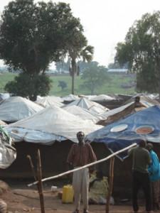 IDP camp in Uganda