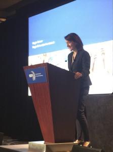 Dr. Maggie Schauer auf der ISTSS in Miami