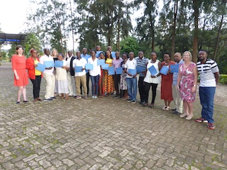 The participants of Training 1