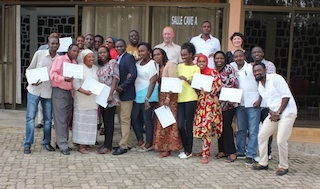 Trainer and Participants